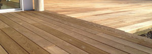 Thermalwood sustainable deck material