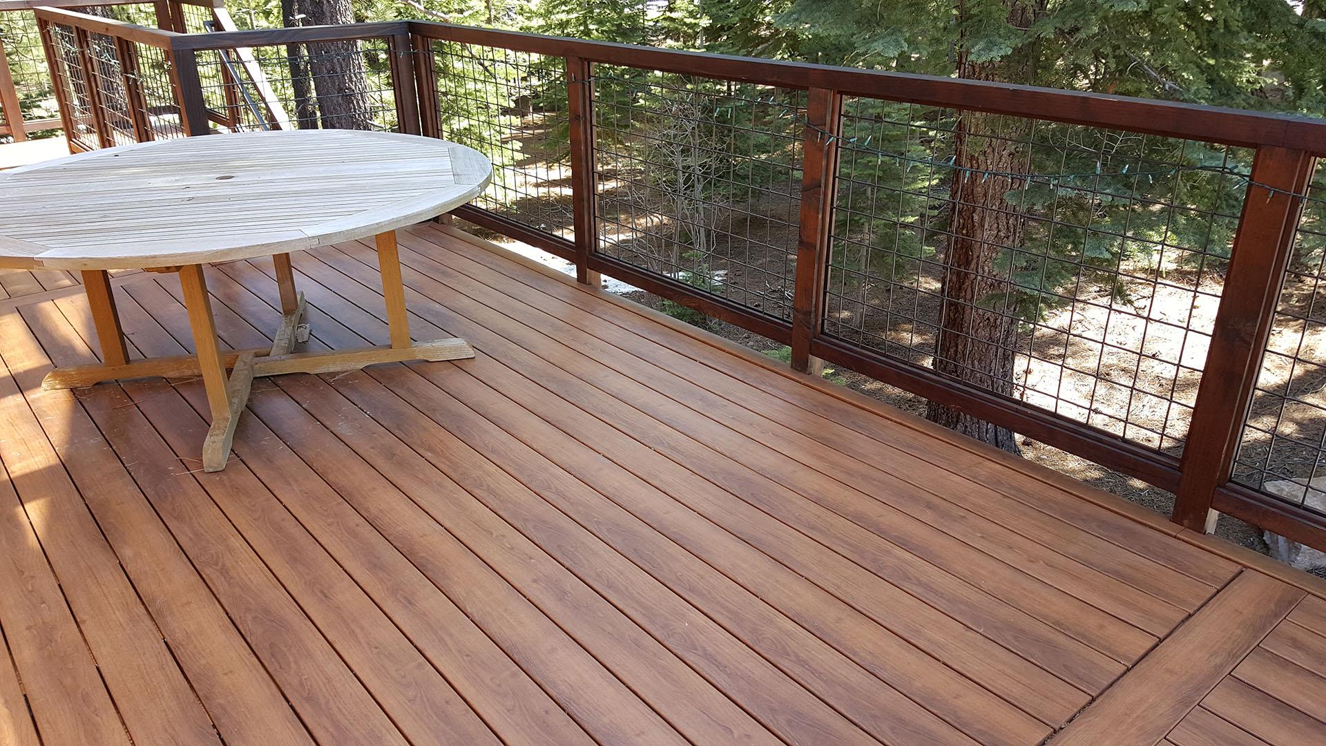 Zuri premium decking from deck supply warehouse for Hardwood decking supply